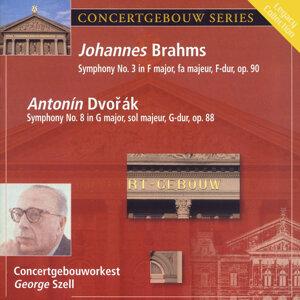 Brahms: Symphony No. 3 in F Major & Dvorak: Symphony No. 8 in G Major