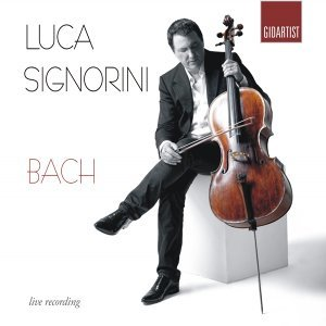 Bach: Luca Signorini Plays 6 Cello Suites - Live Recording