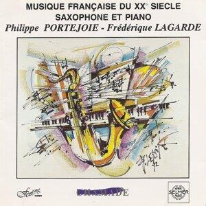 Musique francaise du xx° siècle saxophone et piano