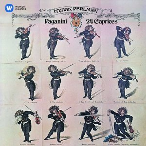 Paganini: 24 Caprices (帕爾曼經典之聲3─帕格尼尼:廿四首隨想曲)