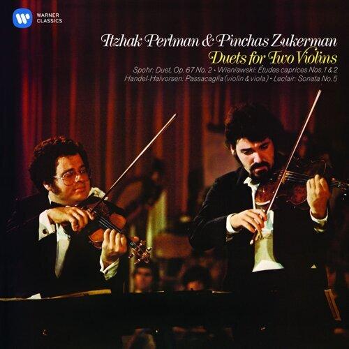 Perlman & Zukerman - Duets for Two Violins (帕爾曼經典之聲16─小提琴二重奏經典【第一輯】:韋尼奧夫斯基、史博等)