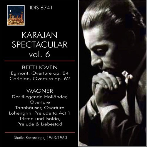 KARAJAN SPECTACLAR VOL VI BEETHOVEN & WAGNER Studio Recordings 1953 - 1960