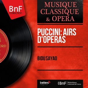 Puccini: Airs d'opéras - Mono Version