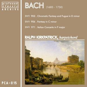 Bach: Harpsichord Recital