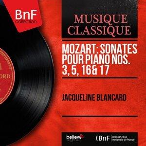 Mozart: Sonates pour piano Nos. 3, 5, 16 & 17 - Mono Version
