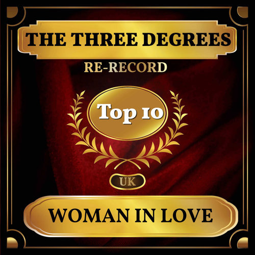 Woman in Love - UK Chart Top 40 - No. 3
