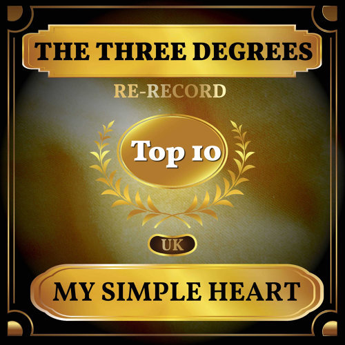 My Simple Heart - UK Chart Top 40 - No. 9