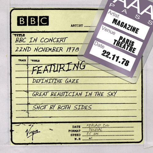 BBC In Concert 22nd November 1978 - 22nd November 1978