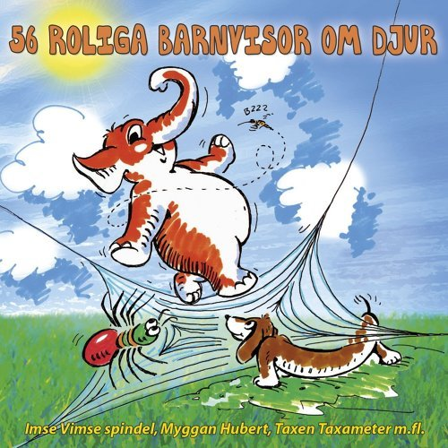 56 roliga barnvisor om djur Album cover