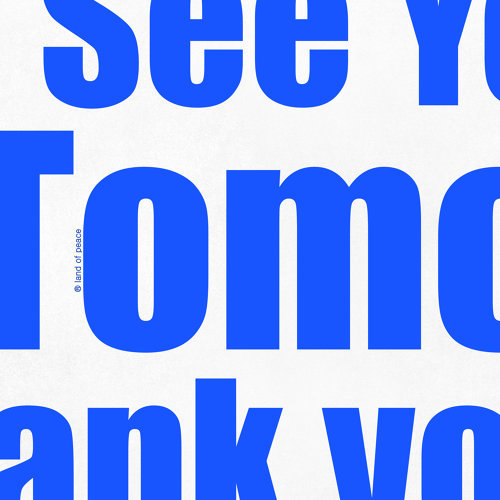 Thank you, See you tomorrow