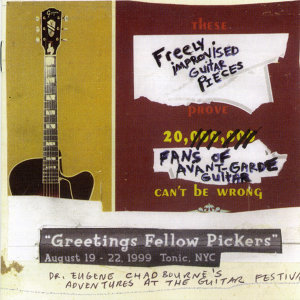 Greeting Fellow Pickers: Guitar Festival Summer 1999