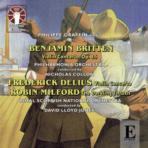 Delius, Britten & Milford: Violin Concertos