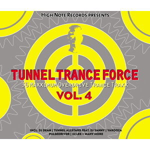 Tunnel Trance Force Vol. 4(電音狂潮 4)