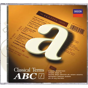 Classical Terms ABC (福茂古典音樂字典ABC) - CD1