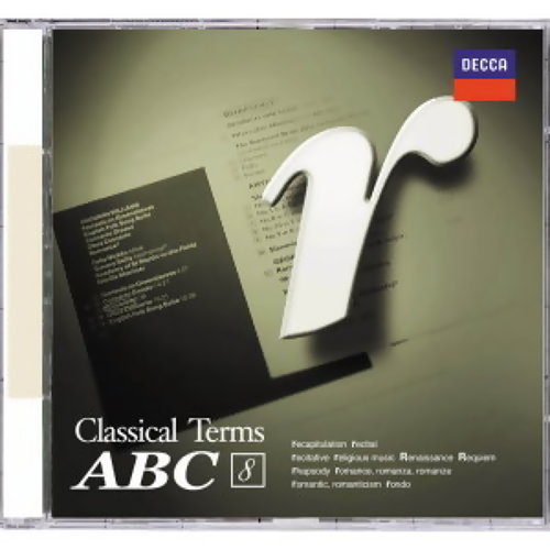Classical Terms ABC (福茂古典音樂字典ABC) - CD8