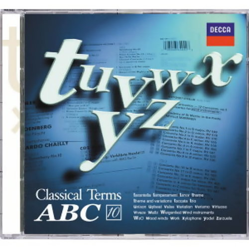 Classical Terms ABC (福茂古典音樂字典ABC) - CD10