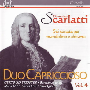 Scarlatti: Sei Sonate per mandolino e chitarra