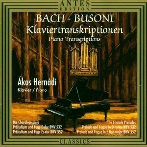 Klaviertranskriptionen von Bach & Busoni
