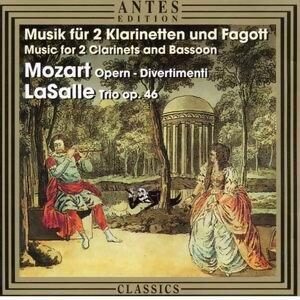 Musik fuer 2 Klarinetten und Fagott