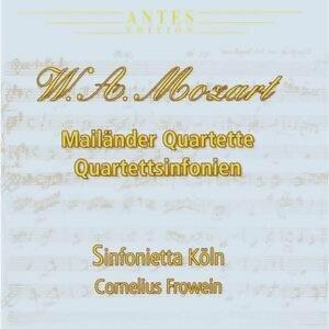 Wolfgang Amadeus Mozart:Mailaender Quartette
