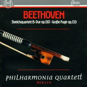 Beethoven: Streichquartett B-Dur op. 130, Große Fuge op. 133
