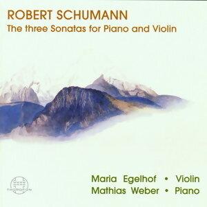 Schumann: 3 Sonaten fUr Klavier und Violine