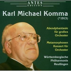Karl Michael Komma: Abendphantasie, Metamorphosen