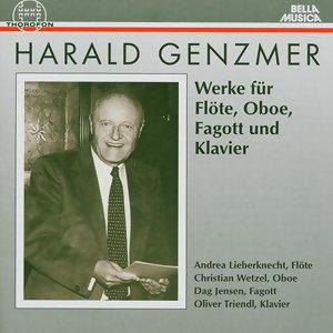 Harald Genzmer: Werke fur Flote, Oboe, Fagott und Klavier