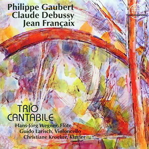 Philippe Gaubert, Claude Debussy, Jean Francaix