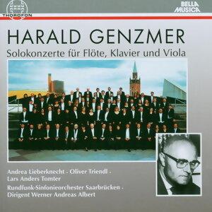 Harald Genzmer: Solokonzerte fur Flote, Klavier und Viola