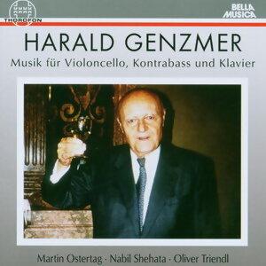 Harald Genzmer: Musik fur Violoncello, Kontrabass und Klavier