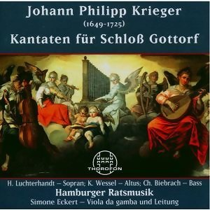 Johann Philipp Krieger: Kantaten für Schloss Gottorf