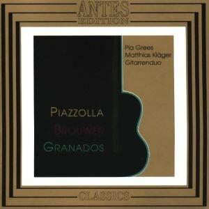 Piazzolla, Brouwer, Granados