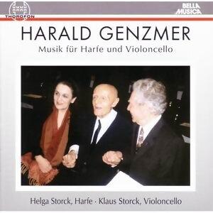 Harald Genzmer: Musik fur Harfe und Violoncello