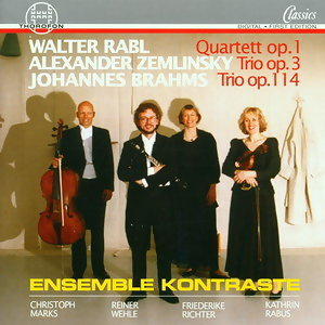 Rabl, Zemlinsky, Brahms