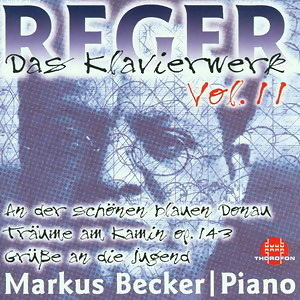 Max Reger: Das Klavierwerk Vol. 11
