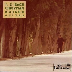 Plays Johann Sebastian Bach