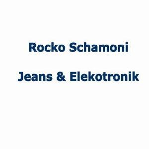 Jeans und Elekronik