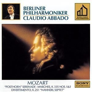 Mozart: Marches: K. 335, NO. 1 & 2; Serenade K. 320; Divertimento K. 251
