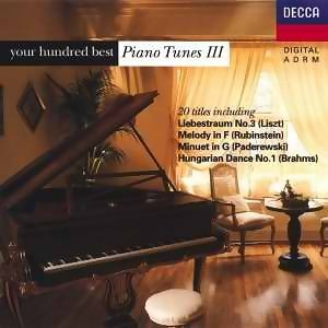 your hundred best Piano Tunes III (鋼琴名曲點播100首-第三集)