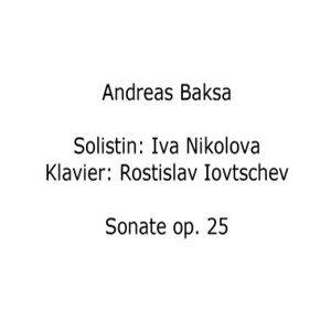 Andreas Baksa: Sonate op. 25