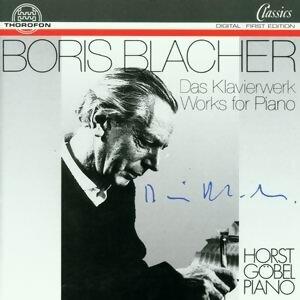 Boris Blacher: Das Klavierwerk