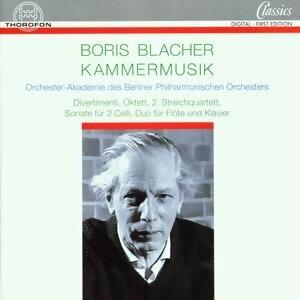 Boris Blacher: Kammermusik