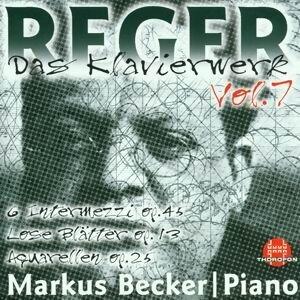 Max Reger: Das Klavierwerk Vol. 7