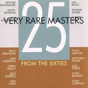 25 Very Rare Masters From The Sixties