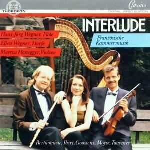 Interlude - Franzosische Musik fur Flote, Violine und Harfe