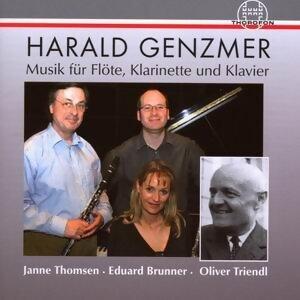 Harald Genzmer: Musik fur Flote, Klarinette und Klavier