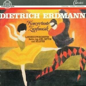 Dietrich Erdmann: Konzertante Zupfmusik