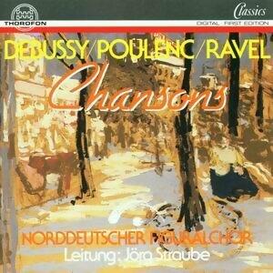 Debussy, Poulenc, Ravel: Chansons