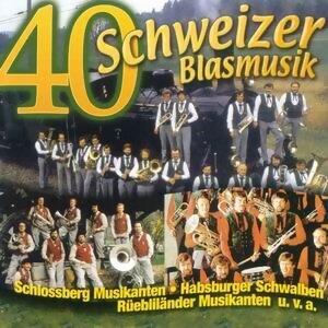 40 x Schweizer Blasmusik